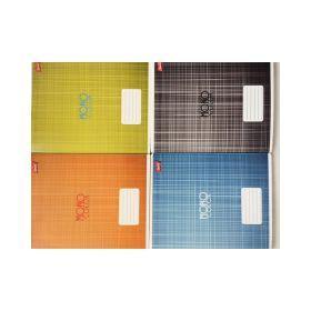 """Kaustik A5/96l 23 joont """"Monocolor"""" 70g, 4 motiivi, Unipap /5"""