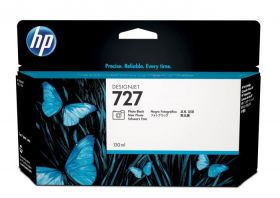 Tint HP B3P23A No.727 Photo Black 130ml DesignJet T1500 , T2500 , T920