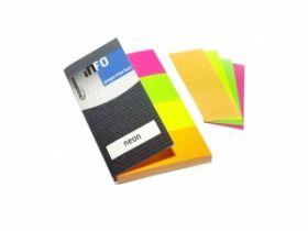 Järjehoidjad Info Notes 4 värvi 20x50mm, paber/12/240