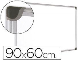 Valge tahvel MAYA 90x60cm magnetpinnaga/alumiinium raamiga