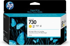 Tint HP 730 P2V64A Yellow 130ml for DesignJet T1700
