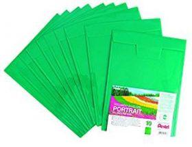 Kileümbrik Recycology plastik A4 kitsas külg suletav roh,/10/500