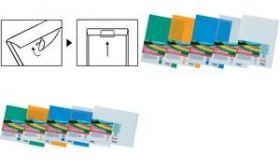 Kileümbrik Recycology plastik A4 laiem külg suletav valge/10/500