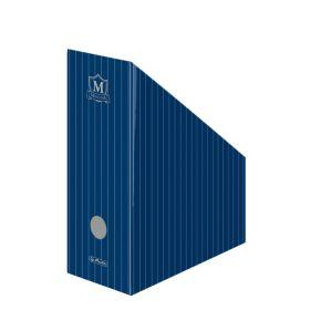 Dokumendikast kartongist A4 Montana, selg 11cm, sinine