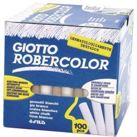 Kriit valge, ümar Giotto 100tk/p /16
