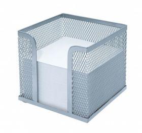 Märkmepaberikarp +paber metall hõbe, Wedo