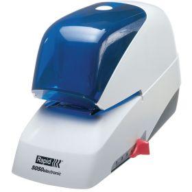 Klammerdaja R5020E 25-le lehele valge, elektriline adapteriga, Rapid