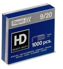 Klambrid 9/20 tsink 1000tk/pk, Strong, Rapid /50