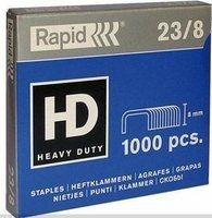 Klambrid 23/8 tsink 1000tk/pk, Rapid /240