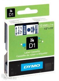 Dymo lint D1 12mmx7m sin/valgel 45014/5