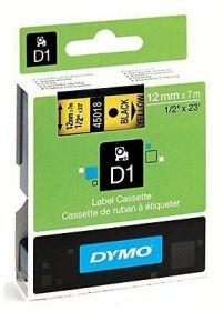 Dymo lint D1 12mmx7m must/koll. 45018/5