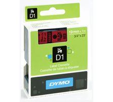 Dymo lint D1 19mmx7m must/punasel 45807/5