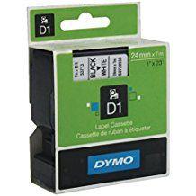 Dymo lint D1 24mmx7m must/valgel 53713/5