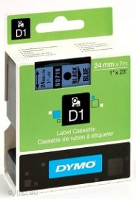 Dymo lint D1 24mmx7m must/sinisel 53716/5