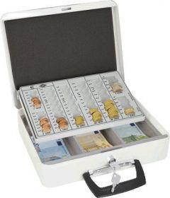 Rahakarp Europa, EURO-dele, 31,5 x 24,5 x 9,5cm valge, Wedo
