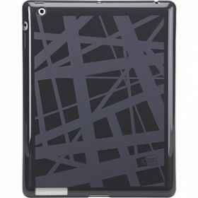 Ümbris iPad2 silikonist must/hall CaseLogic/4