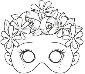 Maskitoorikuraamat tüdrukutele 24l 250g, Avenue Mandarine