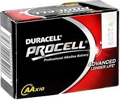 Patarei Duracell ProCell AA 10tk/p
