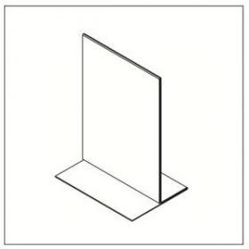 Infoalus A5 püstine, tugev plastik (105601-A5) /10