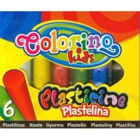 """Plastiliin 6 värvi """"Juicy"""" 100g, Colorino /6"""