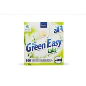 Nõudepesumasina tabletid Green Easy Kiilto 100tk/p /5