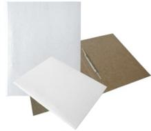 Kartongkiirköitja A4 valge metall klambriga Cista /100