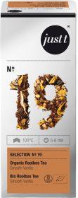 Tee Just-T eco nr.19 Organic Rooiboss/Smooth Vanilla 25tkx2g/pk/6 62533 (ei toodeta)
