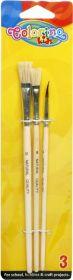 Pintslite komplekt Colorino (CP) 3tk/pk, Colorino /12/24