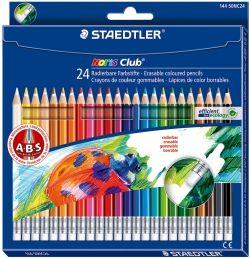 Värvipliiatsid 24 värvi Noris Club A·B·S kustutatav, Staedtler /5