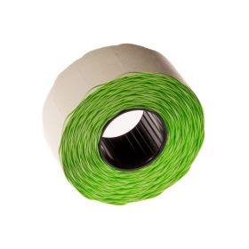 Hinnapüstoli lint 26x16 ümar serv, roheline/36