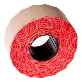 Hinnapüstoli lint 26x16 ümar serv, punane/36