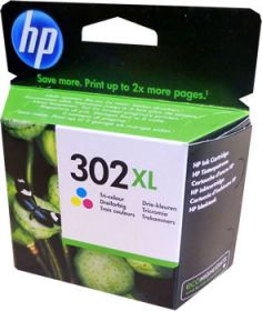 Tint HP F6U67AE Nr.302XL värviline