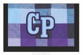 Rahakott CoolPack sinised ruudud