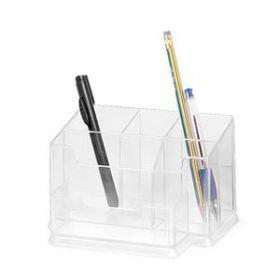 Pliiatsitops Forpus 6-osaline plast, läbipaistev /24