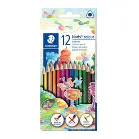 Värvipliiatsid 12v Wopex Noris Coloring kolmetahulised, Staedtler /10