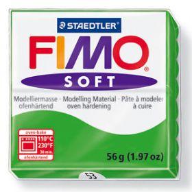 Polümeersavi Soft 57g roheline, Fimo /6