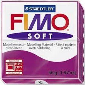 Polümeersavi Soft 57g violetne, Fimo /6