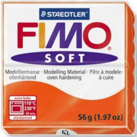 Polümeersavi Soft 57g oranž, Fimo /6
