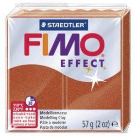 Polümeersavi Effect 57g vaskne metallik, Fimo /6