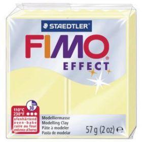 Polümeersavi Effect 57g pastellkollane, Fimo /6