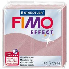 Polümeersavi Effect 57g läbip. pärlroosa, Fimo /6