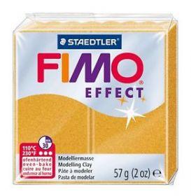 Polümeersavi Effect 57g kuldne glitter, Fimo /6