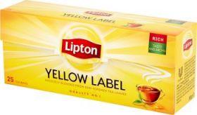 Tee Lipton Yellow Label, ümbrikuta 25tkx2g/pk/32