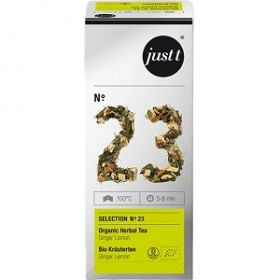 Tee Just-T eco nr.23 Ginger&Lemon 25tkx2g/pk/6 (62557) (ei toodeta)