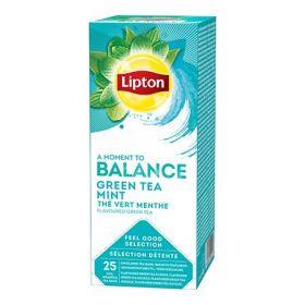 Tee Lipton Roheline tee&Münt fooliumis 25tkx1,6g/pk/6