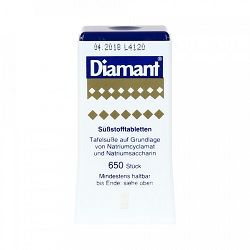 Suhkruasendaja Diamant 650tk