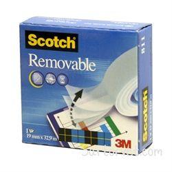 Kleeplint Scotch Magic 811 eemaldatav 19x33m/12