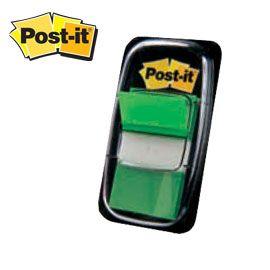Järjehoidja Post-it 680-3 roheline/12/36