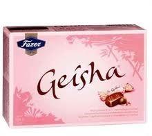 Komm Geisha 150g, Fazer/12