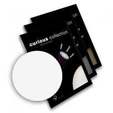 Disainpaber Curious Metallics A4/120g Ice Silver 50lehte /25